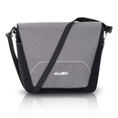 OPTIMO Grey Fox Wickeltasche