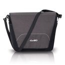 OPTIMO Anthracite Wickeltasche